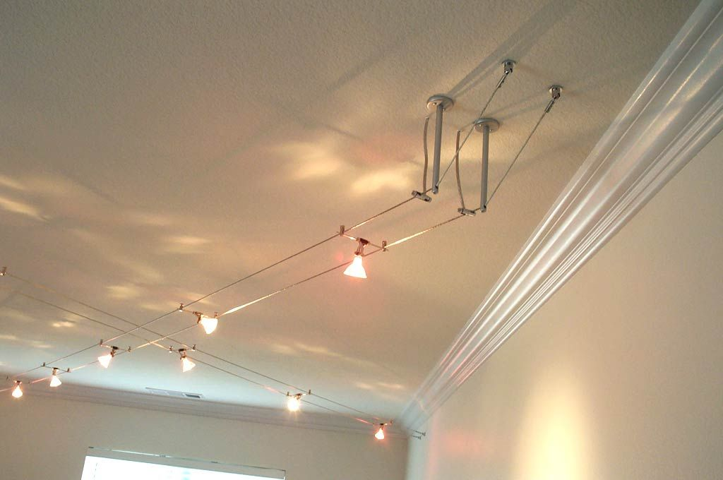 lighting | For the Home | Pinterest | Cable, Lights and Open ceiling