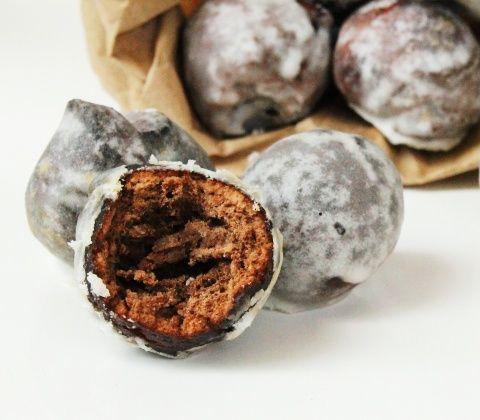 "Chocolate ""Munchkins"" Donut Holes"