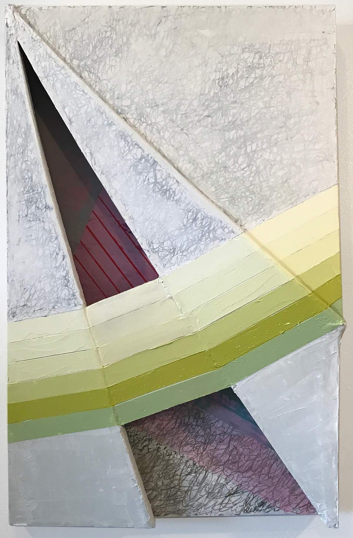 Abstraction, calligraphy and wintry scenes fill Third Friday