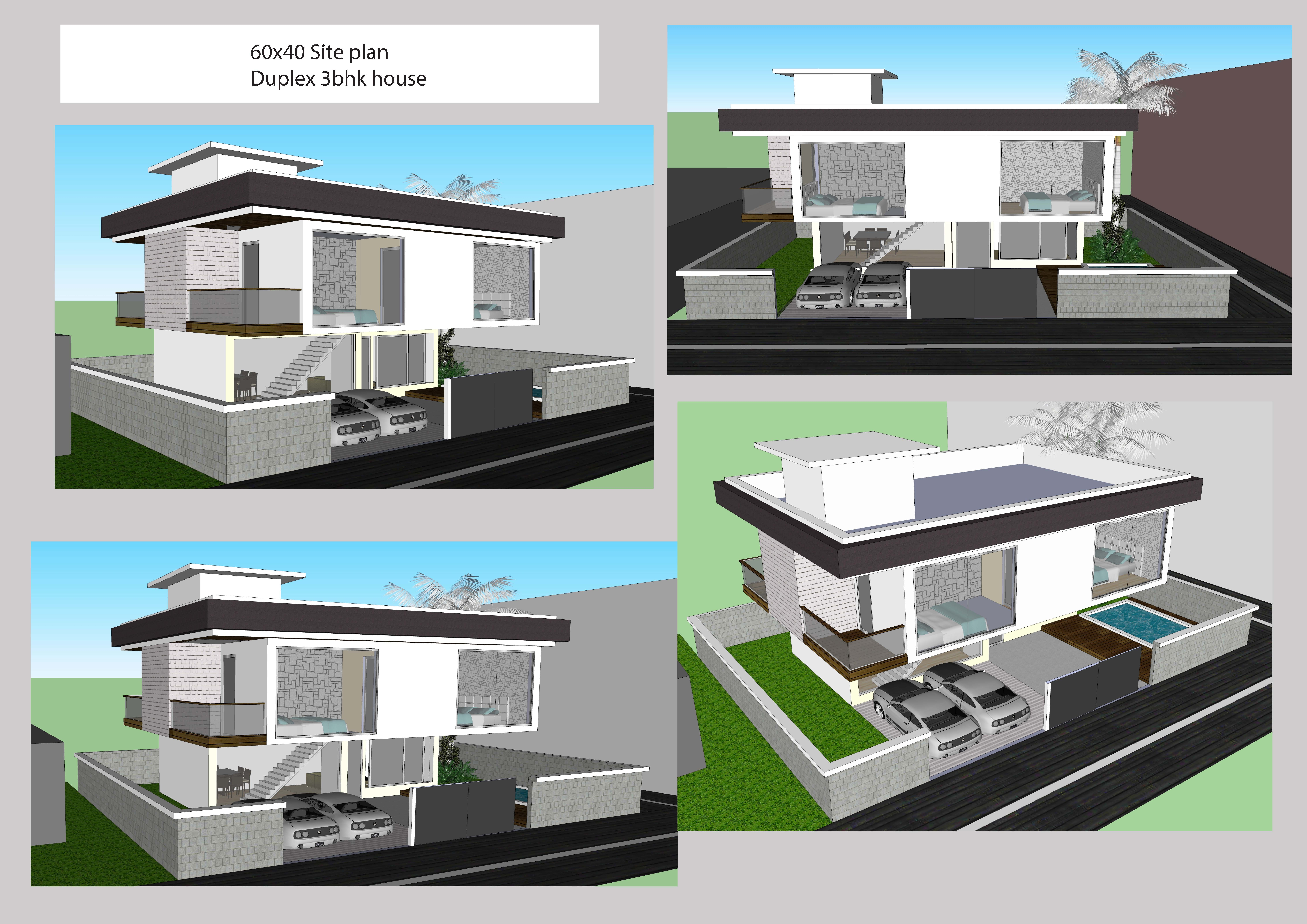 X duplex house my works pinterest