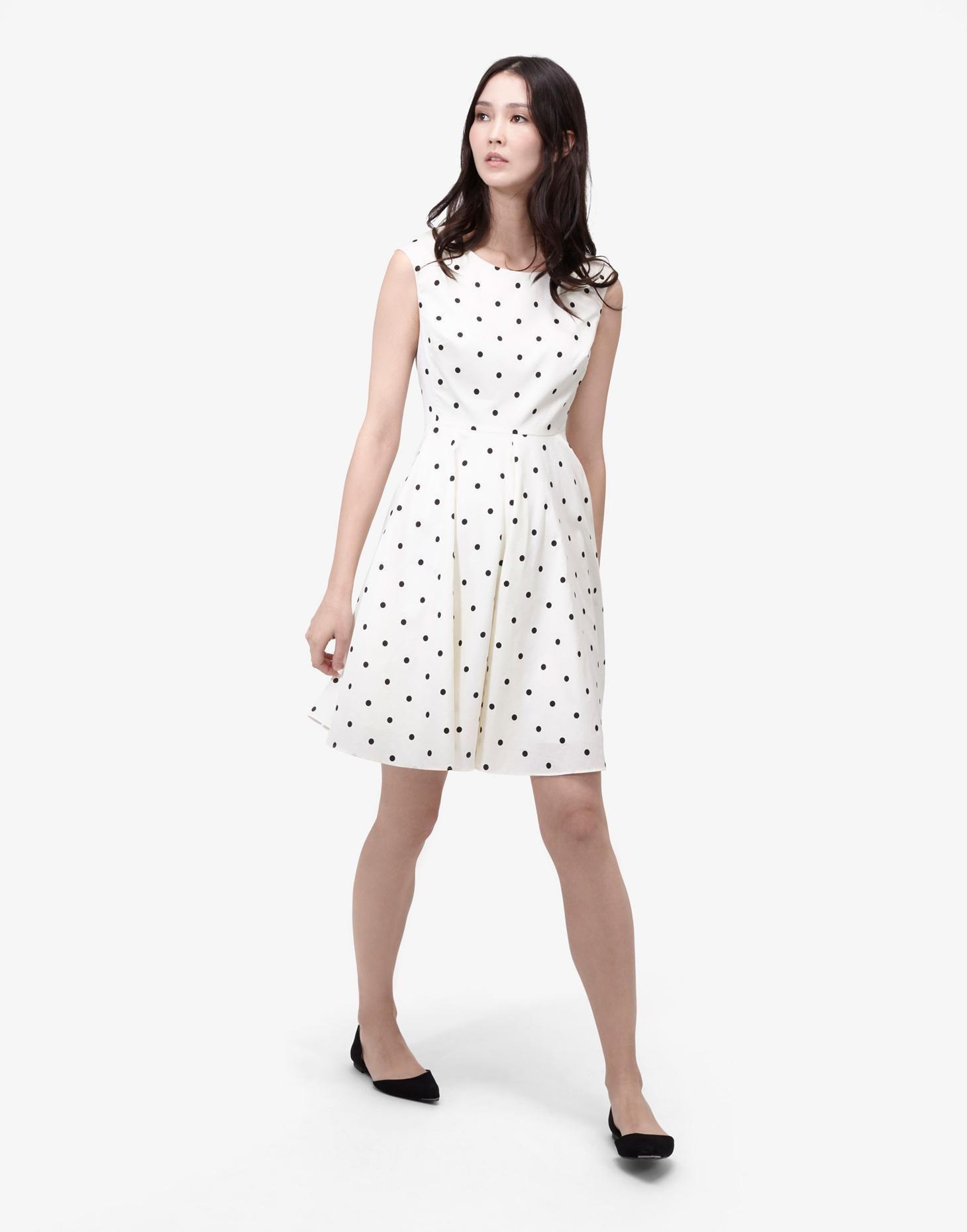 c3a6e218f2c Amelie Black Spot Woven Dress | Joules US | Joules Summer | Dresses ...