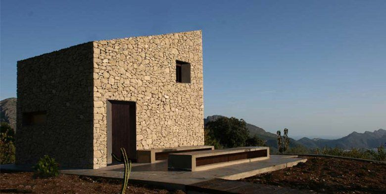 Refugio en La Vall de Laguar, La Vall de Laguar, 2010 - Enproyecto Arquitectura