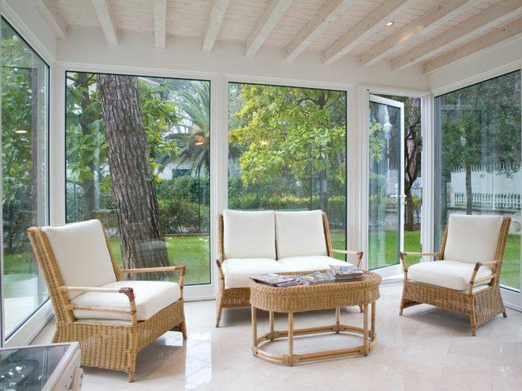 Verrière extérieure et véranda : déco de printemps et d'été - décorations pour la maison | Déco ...
