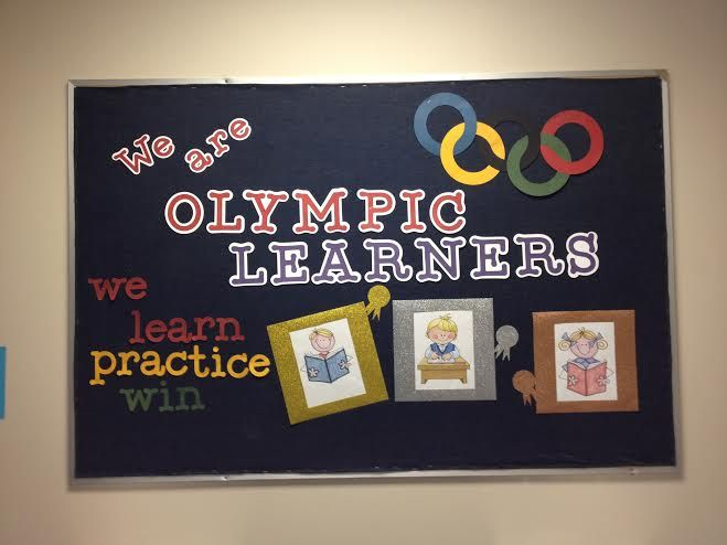 Pin By Laura Putinski On School Stuff Olympic Bulletin Board Theme Classroom Sports