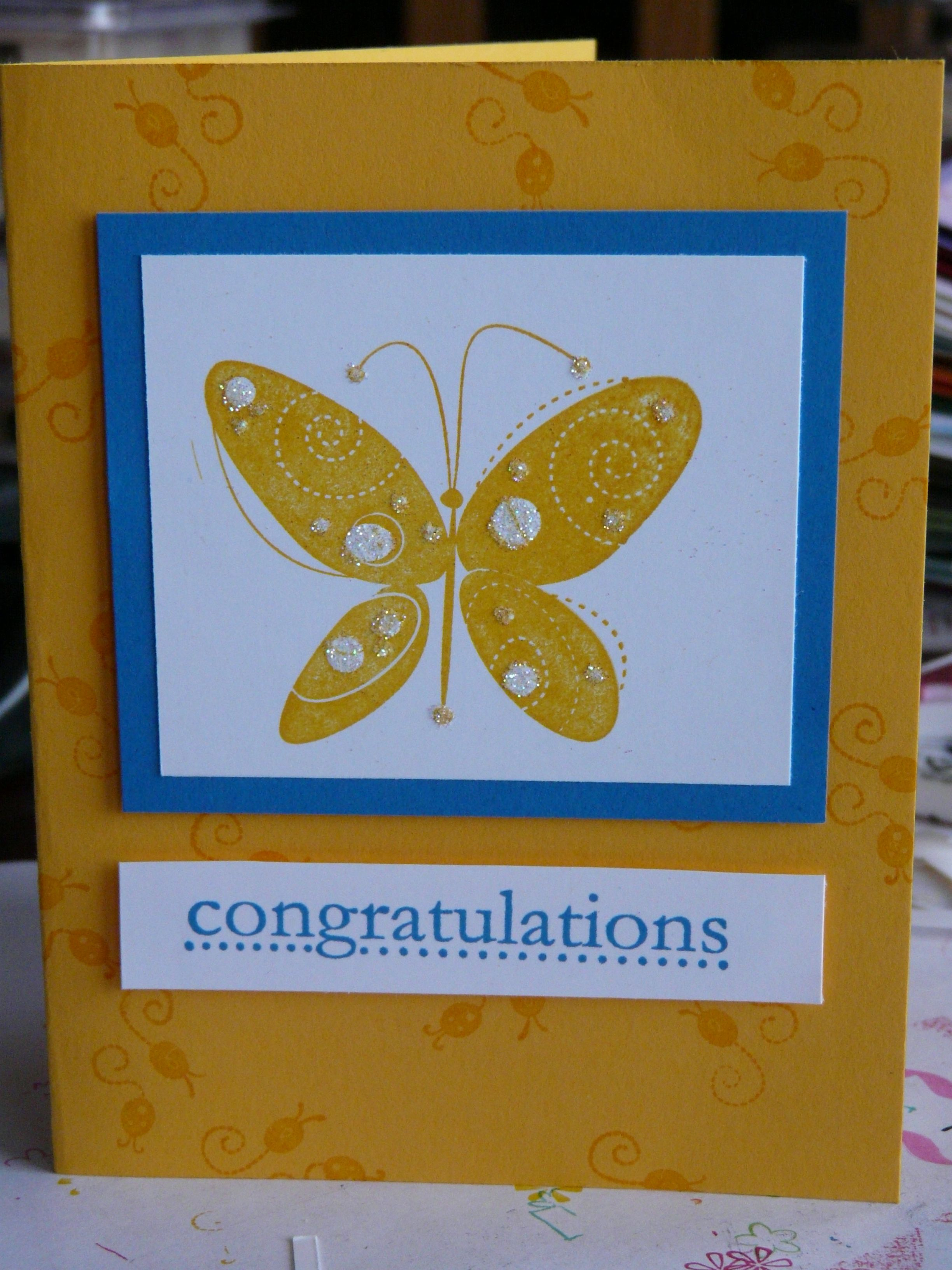 Love this card, use different bright colors.