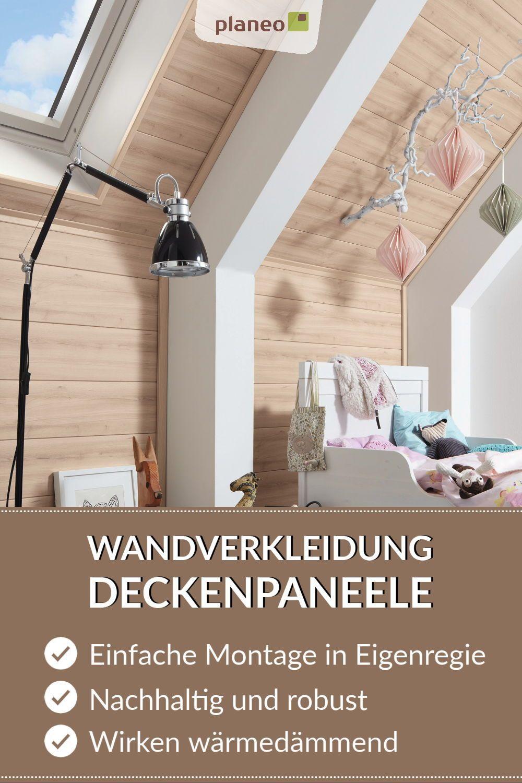 Wandverkleidung Deckenpaneele Stilvolle Akzente Fur Wand Und Decke Bei Einfacher Montage In 2020 Wandverkleidung Deckenpaneele Deckenverkleidung