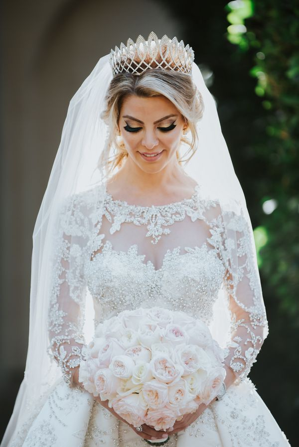 Luxury Persian Wedding at Pelican Hill | Couture Bridal Gowns