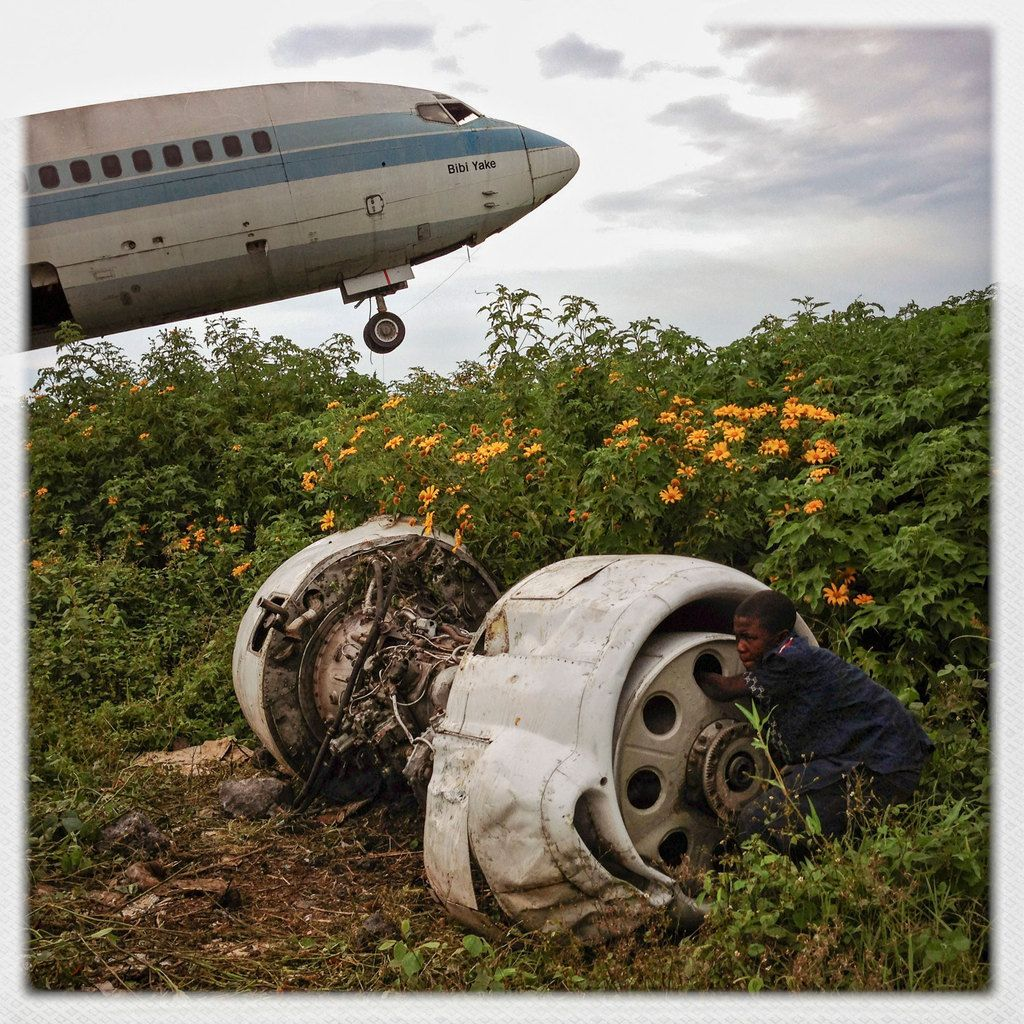Abandoned Planes In Congo, By Michael Christopher Brown