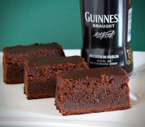 Guinness Brownies Ingredients 1 Cup Guinness 16 Ounces Semisweet