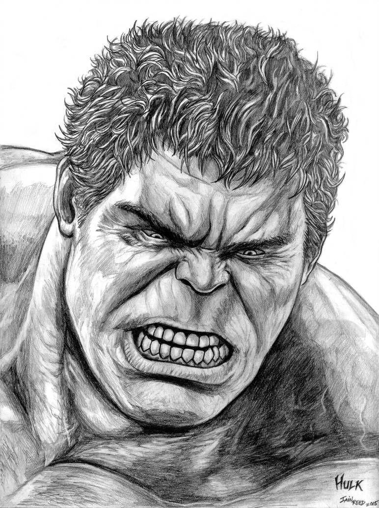 Hulk Face Drawing : drawing, (Avengers, Ultron), SoulStryder210, Marvel, Drawings,, Drawings
