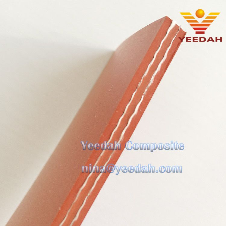 Thickness 6 0mm Silica Rubber Coated Fabric Silica Rubber Sheet Silicone Rubber Gasket 6 0mm Manufacturer By Yeedah Composite Fabric Flexible Duct Composition
