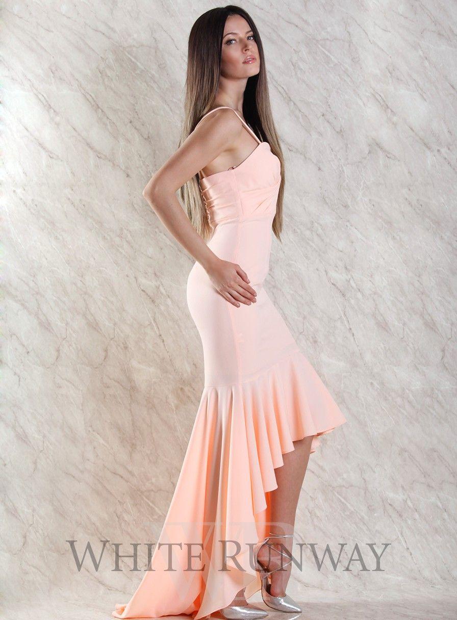 Roze Dress by Leah Da Gloria X White Runway. A stunning full length dress  designed by Leah Da Gloria for White Runway. Featuring a v-wired sweetheart  ... d6b1aa950