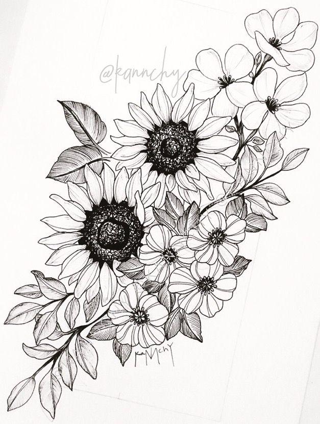 Pin de Karla Justiniano en arts | Pinterest | Plantas, Tatuajes y Dibujo