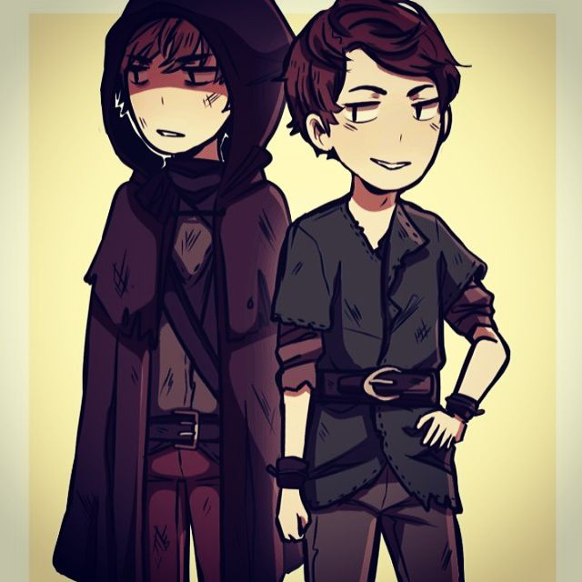 The Incredible Duo Of Felix Parker Croft And Pan Robbie Kay