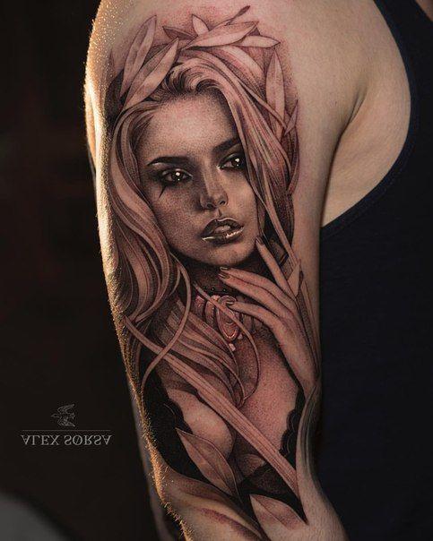 Sascha S Pinnwand Fotos Portrait Tattoo Sleeve Girl Face Tattoo Girl Arm Tattoos