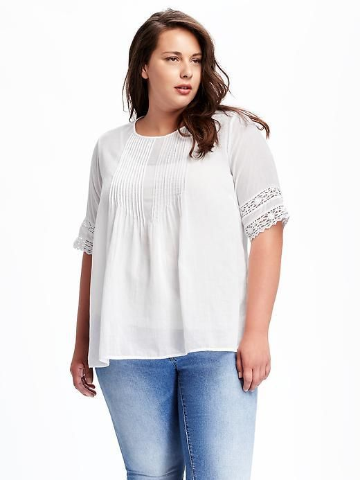 66233c846c3f4 36 Plus Size Summer Tops with Sleeves - Plus Size Fashion for Women -  alexawebb.com
