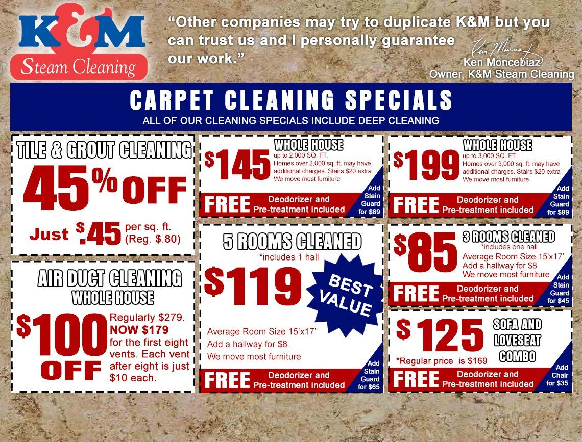 Thank You Carpet Cleaners K M Steam Cleaning Austin Tx