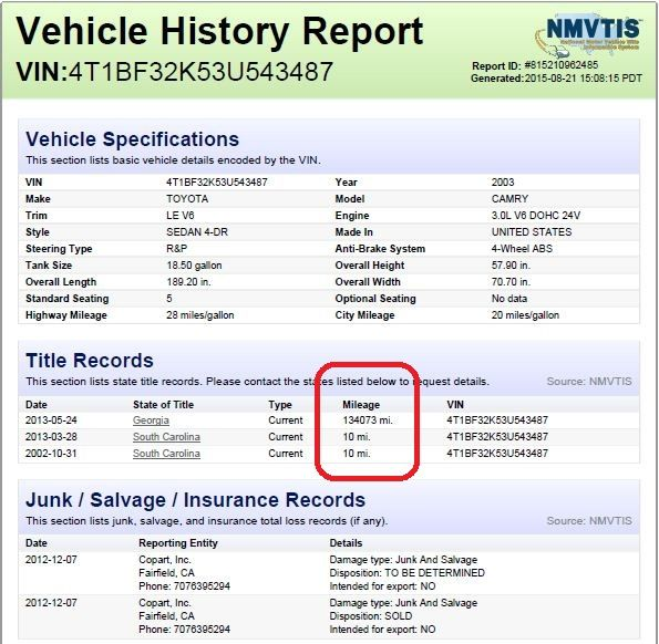 Pin by Our Deo Corporate Ltd on AutolookupNigeria - Vehicle History - vehicle service contract