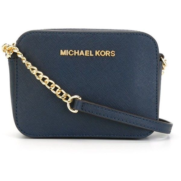 5187ab0a958d Michael Michael Kors Mini Jet Set Travel Crossbody Bag ( 138) ❤ liked on  Polyvore featuring bags
