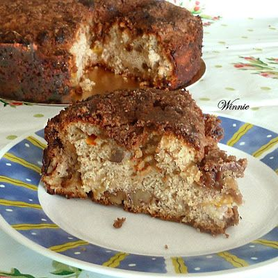 Coffee Cake w/ apricots or apples, or...