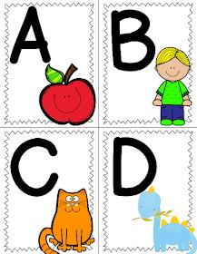 The Cozy Red Cottage Free Printable Alphabet Flashcards Alphabet Flashcards Alphabet Printables Abc Flashcards Printable
