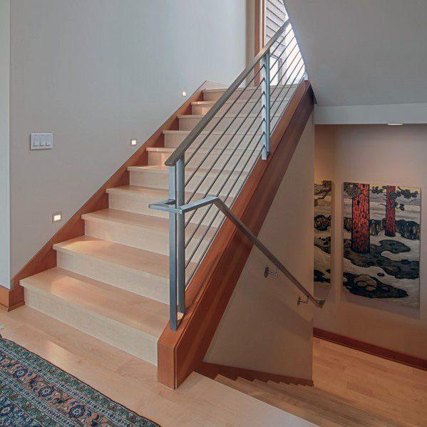 Top 50 Best Wood Stairs Ideas: Top 60 Best Stair Trim Ideas