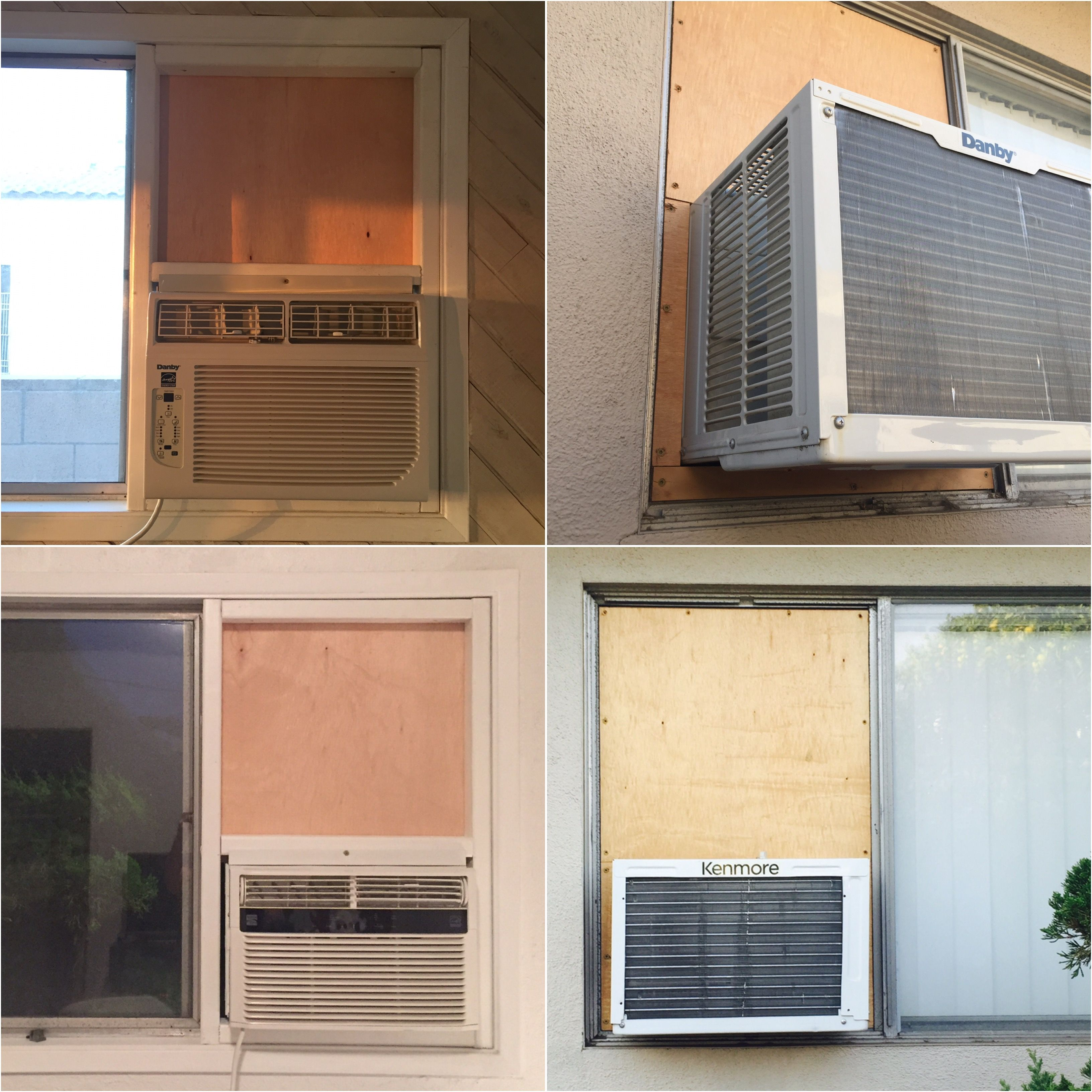Installing A Window Ac With Style Window Air Conditioner