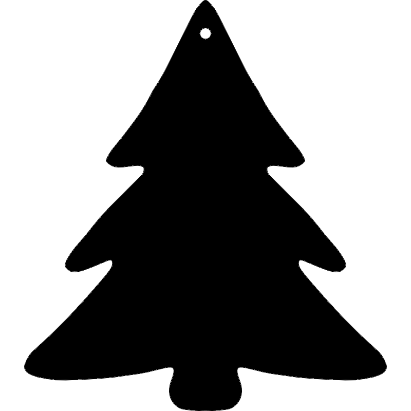 Christmas Tree dxf File Free Download | Laser Cutting