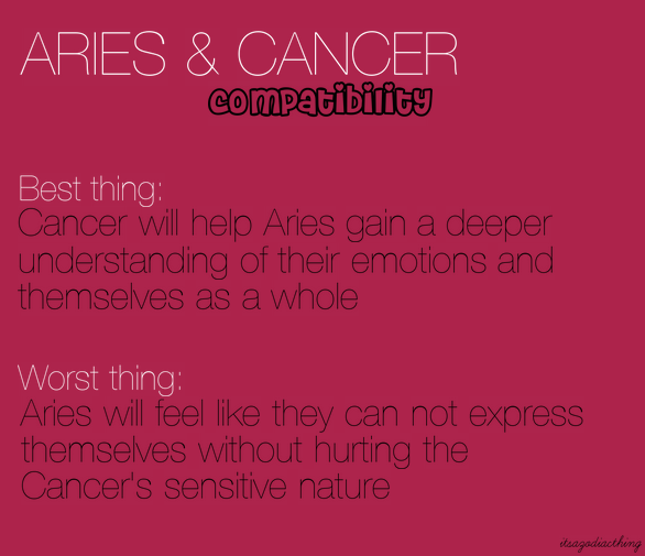 Aries and Pisces