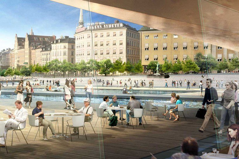 construction starts on stockholms slussen masterplan by foster  partners & C.F. møller https://t.co/OKeEotuza8 via PaigeStainless