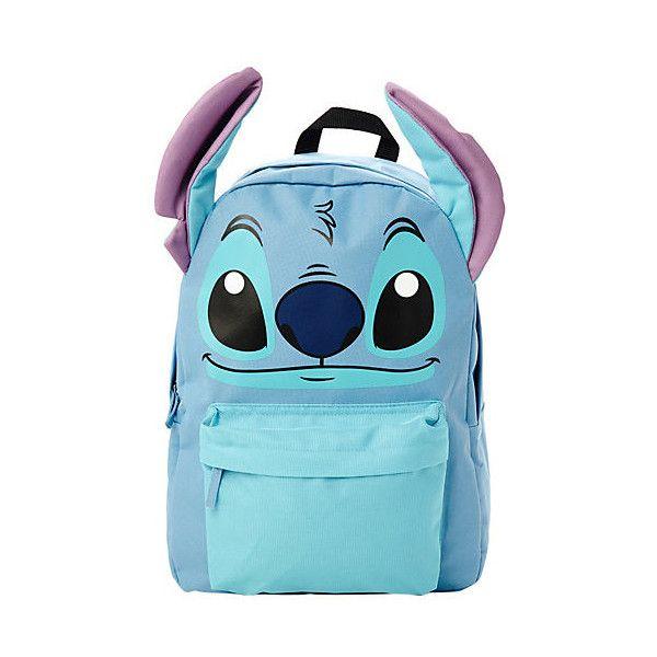 Disney Lilo & Stitch I Am Stitch Backpack | Hot Topic ($30) found on Polyvore