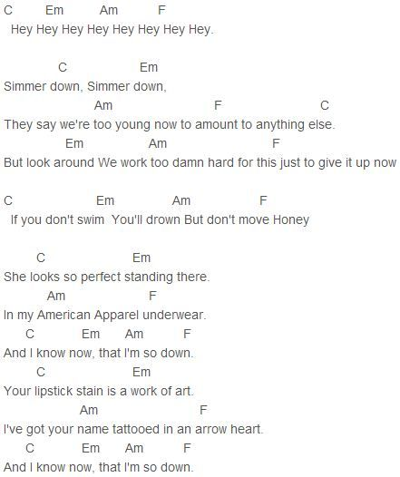 Perfect Lyric And Chord One Direction — brad.erva-doce.info