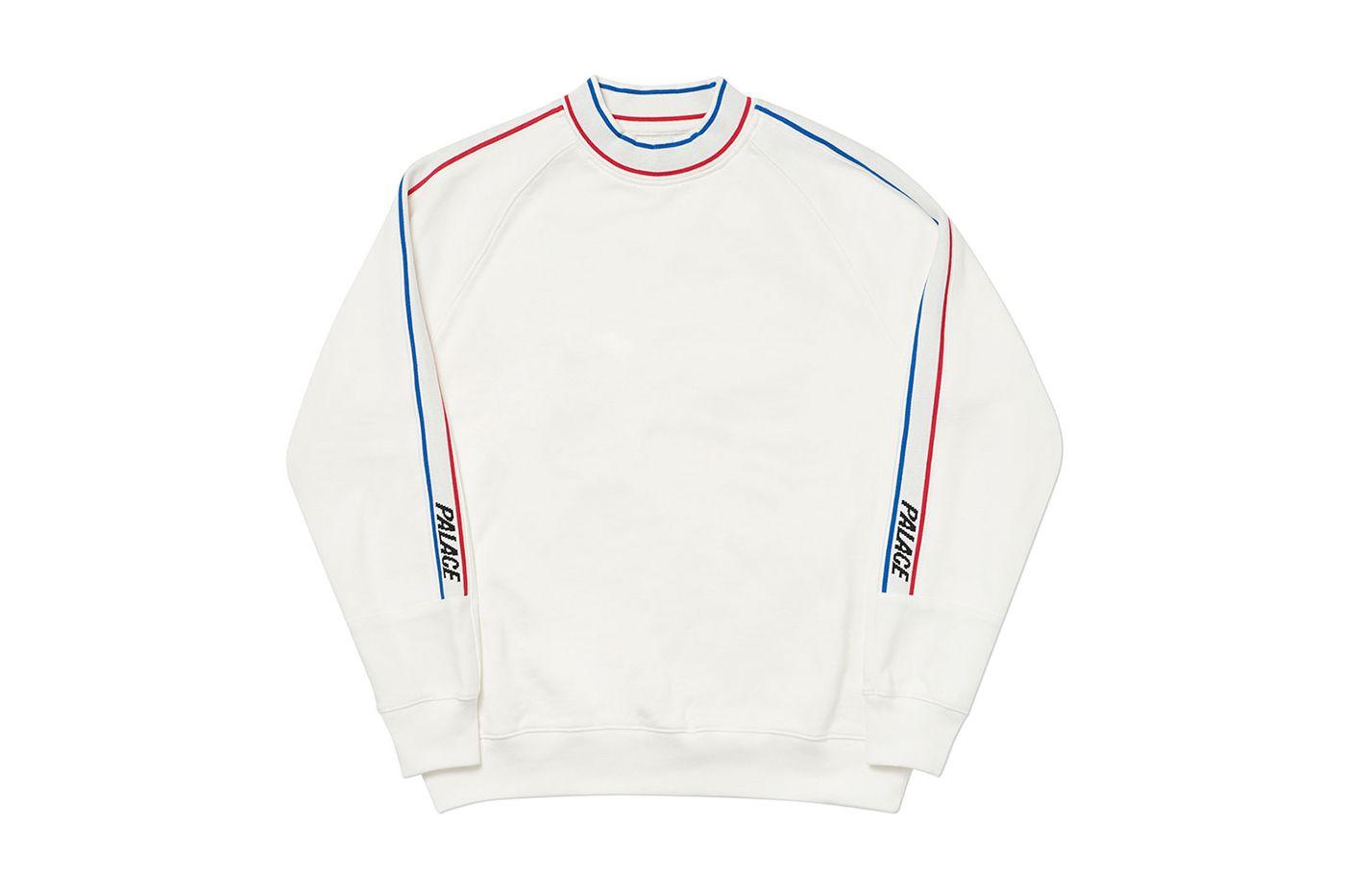 Palace 2019 Summer Sweatshirts Summer Sweatshirt Sweatshirts Cool Outfits [ 933 x 1400 Pixel ]