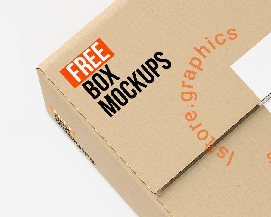 Download 7 Free Psd Box Mockups Free Design Resources Box Mockup Mockup Photoshop Mockup