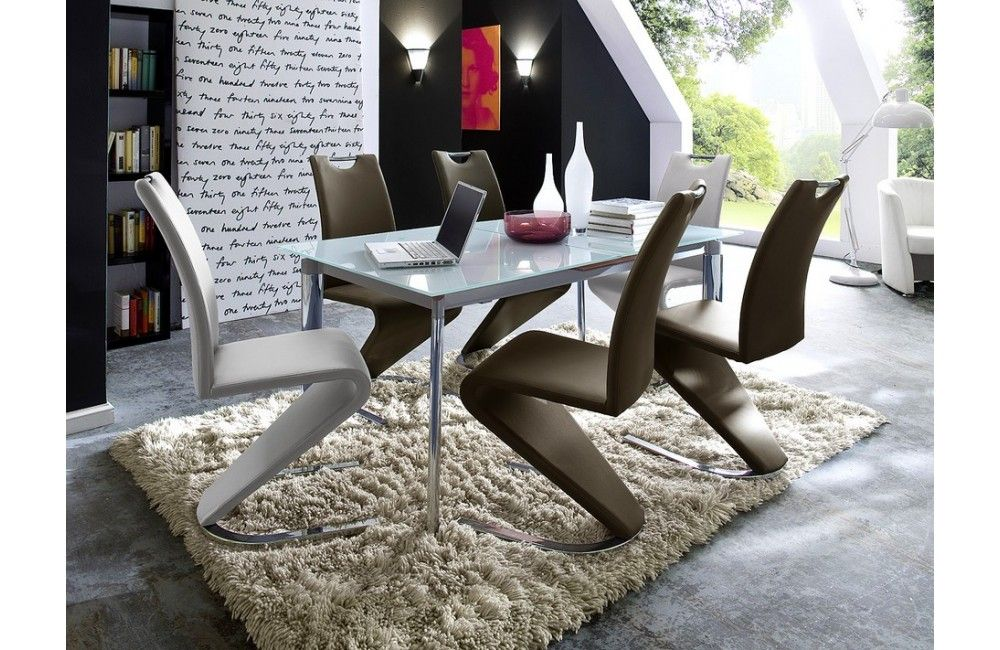 Chaise de salle a manger design torino b for Table a manger design italien