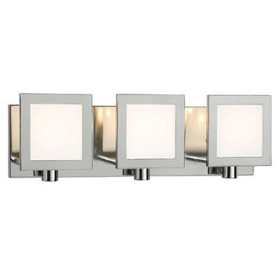 Hampton Bay 3 Light Chrome Wall Light 001 70313CH Home Depot