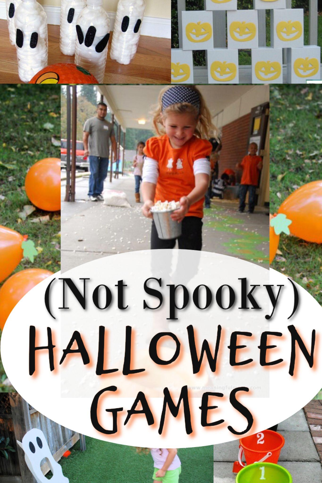 Cute Halloween Games For Kindergarten