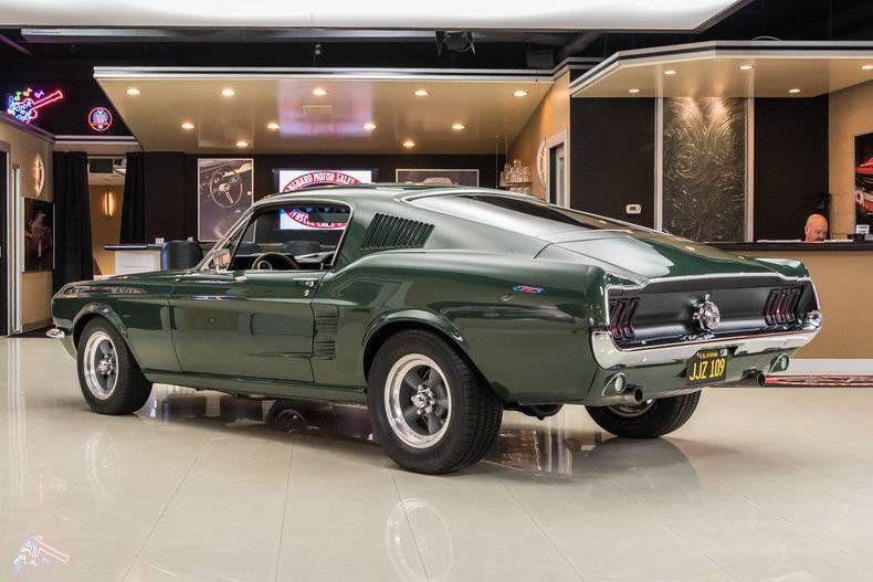 1967 Ford Mustang Fastback Bullitt Ford Mustang Mustang Bullitt