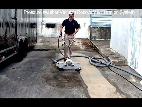 Best Vacuum Recovery Surface Cleaner Amp Wastewater Recovery