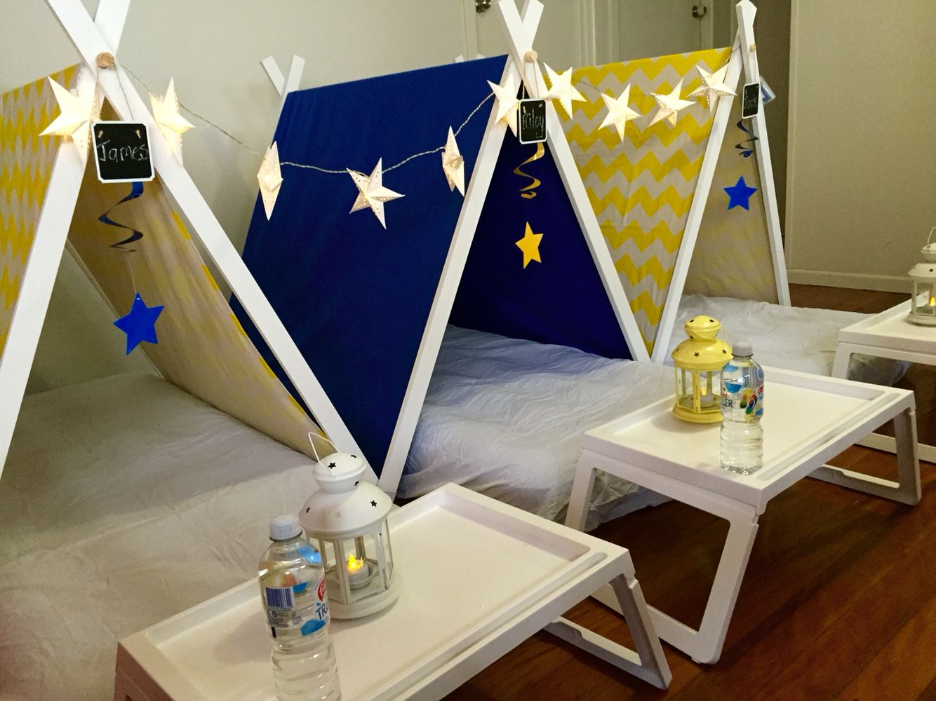 Teepee bambini ~ Kids tribal dream catcher teepee birthday party by withloveandink