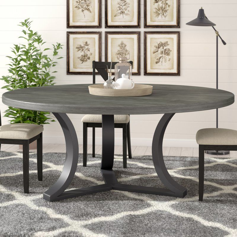 Louisa Rounded Dining Table Wayfair 169999