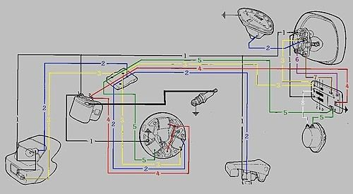 Wiring Diagram Custom Motorcycle Wiring Diagrams Honda Wiring Diagram