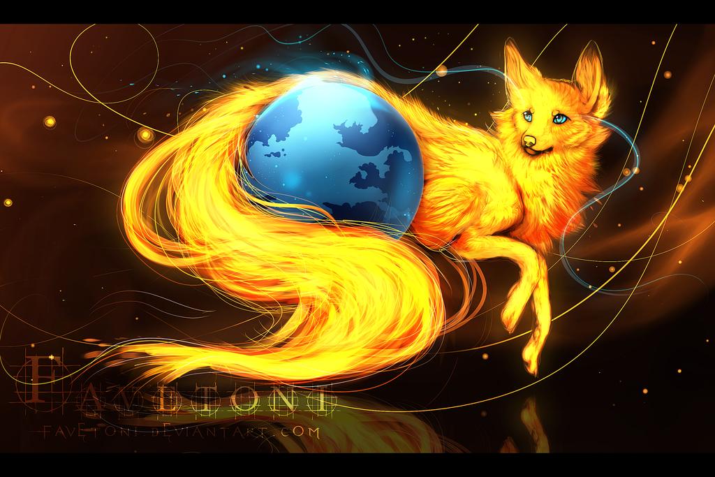 - Mozilla Firefox - by Favetoni on deviantART | Digital ... - photo#18