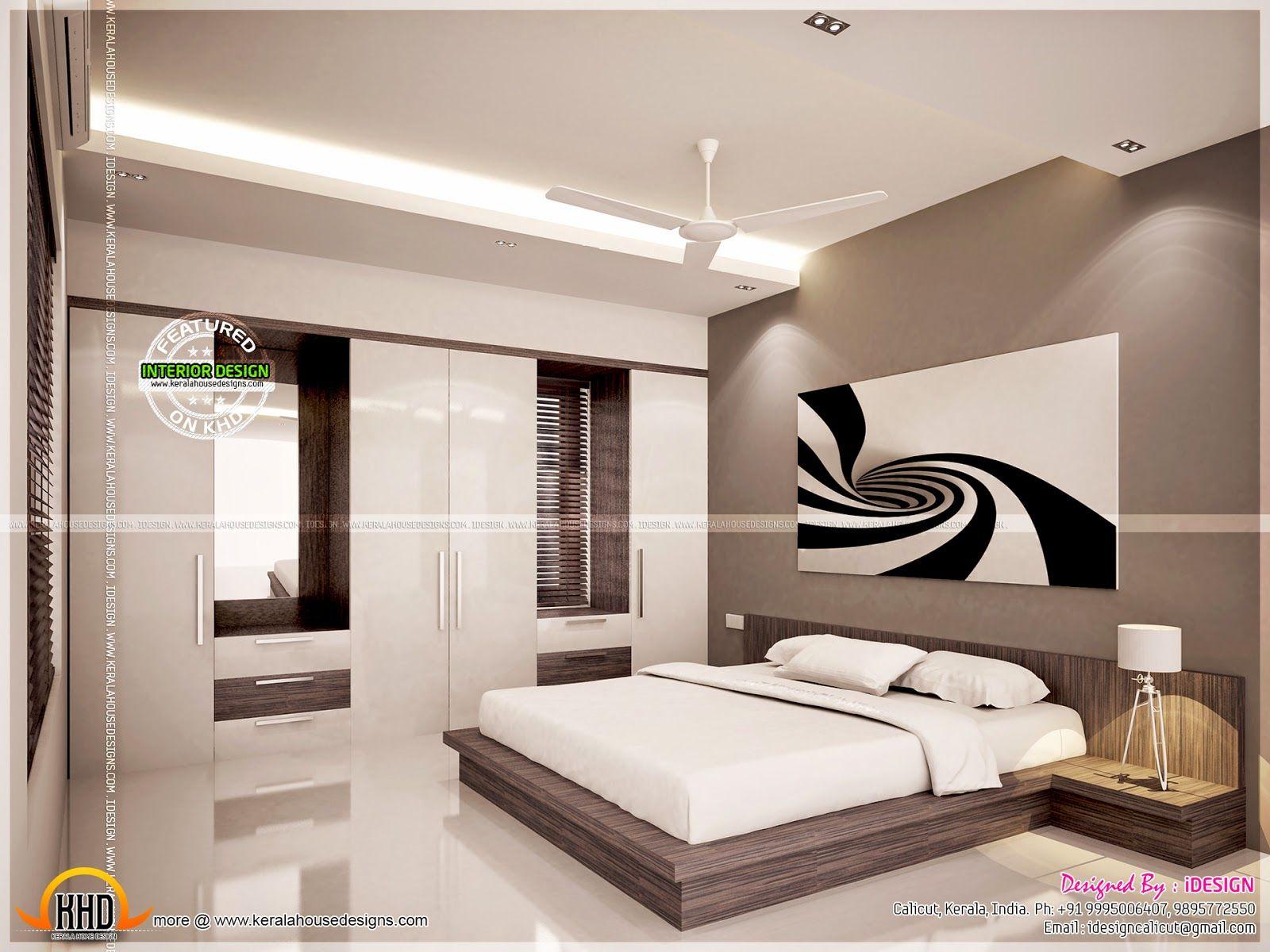 Kitchen Master Bedroom Living Interiors Interior Design Software Master Bedroom Design Kerala House Design Kerala style bedroom ideas