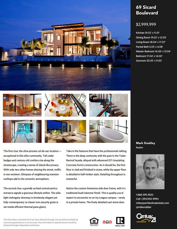 real estate feature sheet - Google Search | Feature Sheet Design ...