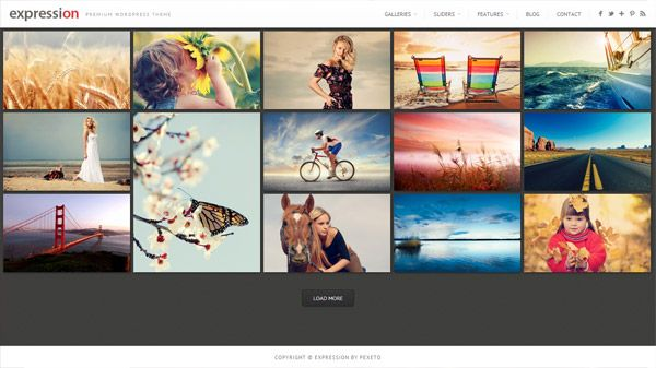 Expression by Pexeto. 20 Premium #Photography #WordPress Themes ...