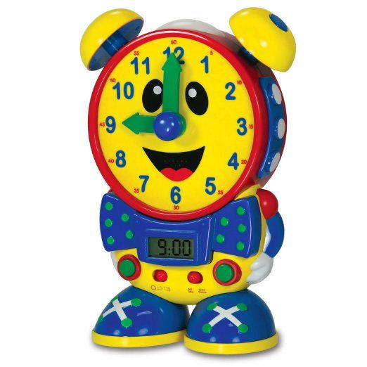 Amazon.com: The Learning Journey Telly the Teaching Time Clock (Primary): Toys & Games
