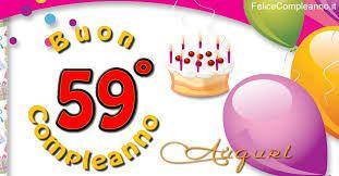 Auguri Buon Compleanno 59 Anni.Risultati Immagini Per Buon Compleanno Con Glitter 59