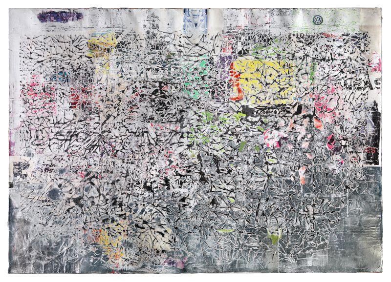 Bricolage visual artist as social multitude mark
