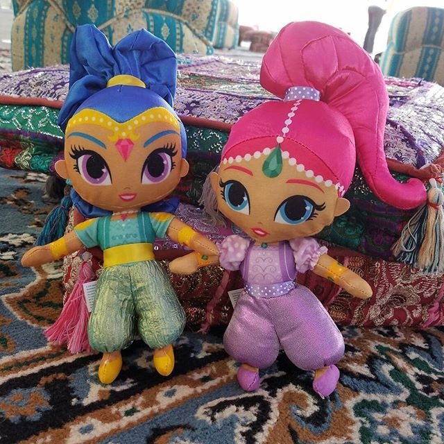 07e4774067 These Nick Jr. Shimmer and Shine toys are the perfect genie plush dolls for  your preschooler. This is the perfect gift for a child's ...